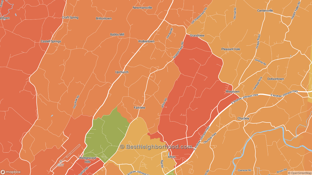 The Best Places in Afton, TN by Home Value