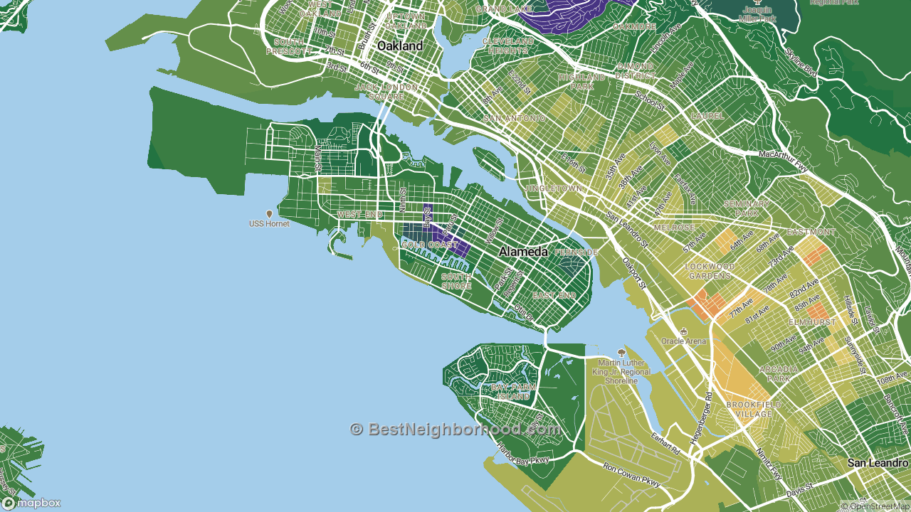 The Best Places in Alameda, CA by Home Value