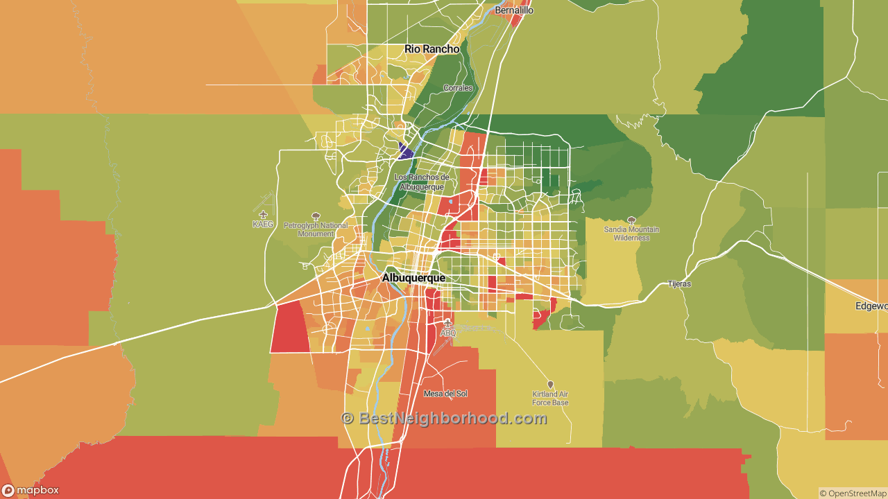 The Best Places in Albuquerque, NM by Home Value
