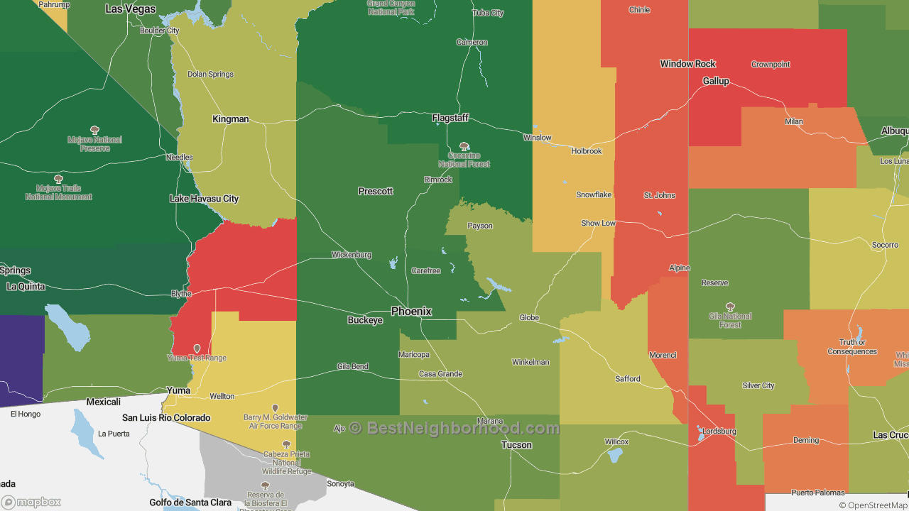 The Best Places in Arizona by Home Value