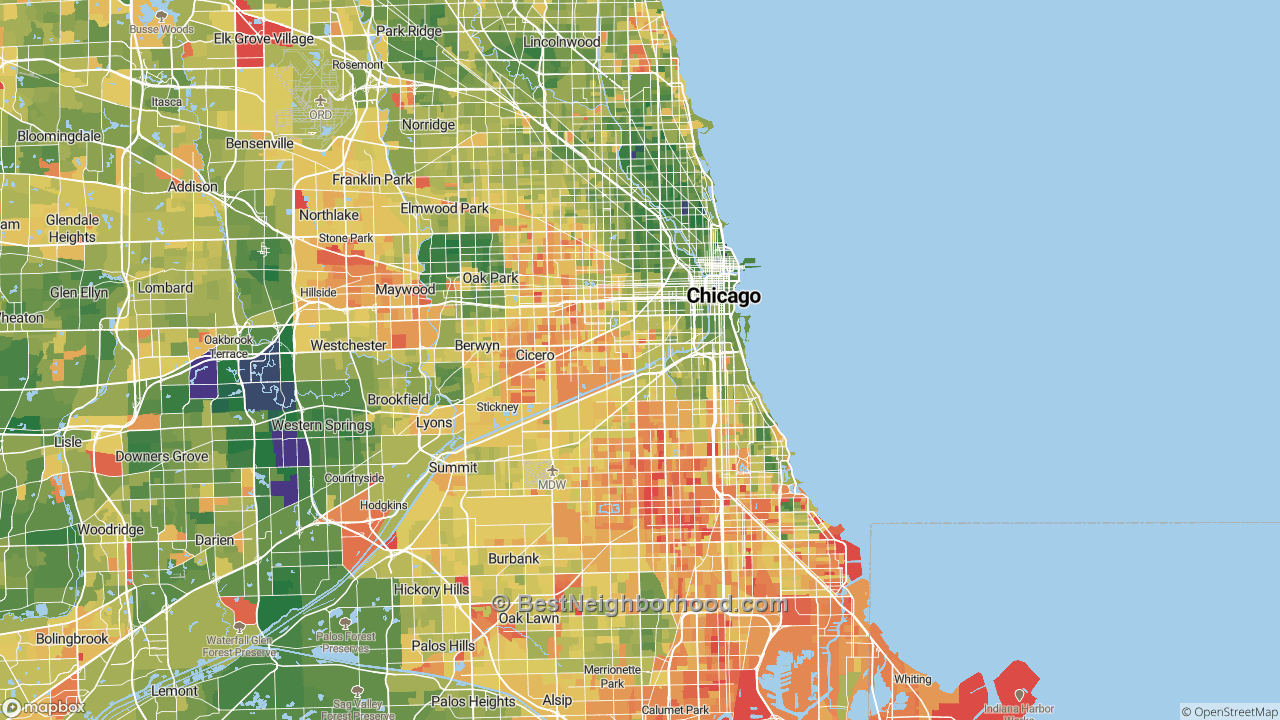 The Best Places in Chicago, IL by Home Value