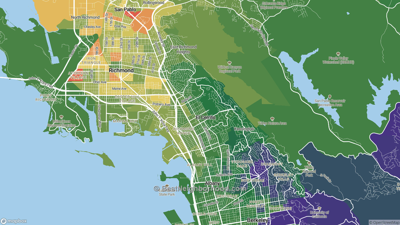 The Best Places in El Cerrito, CA by Home Value