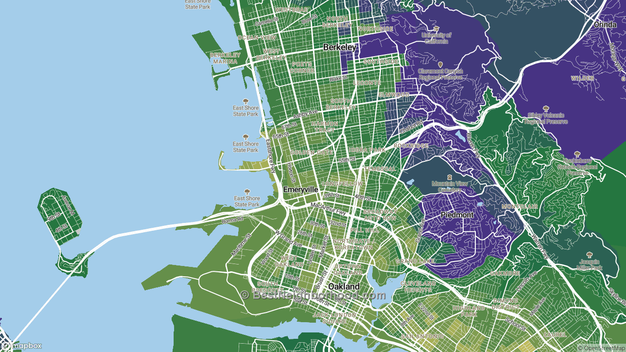 The Best Places in Emeryville, CA by Home Value