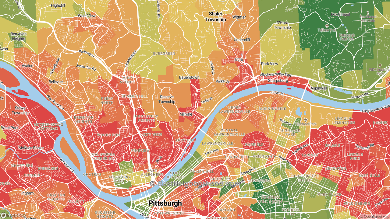 The Best Places in Millvale, PA by Home Value