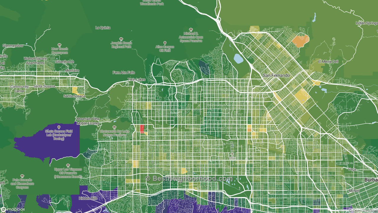 The Best Places in Northridge, CA by Home Value