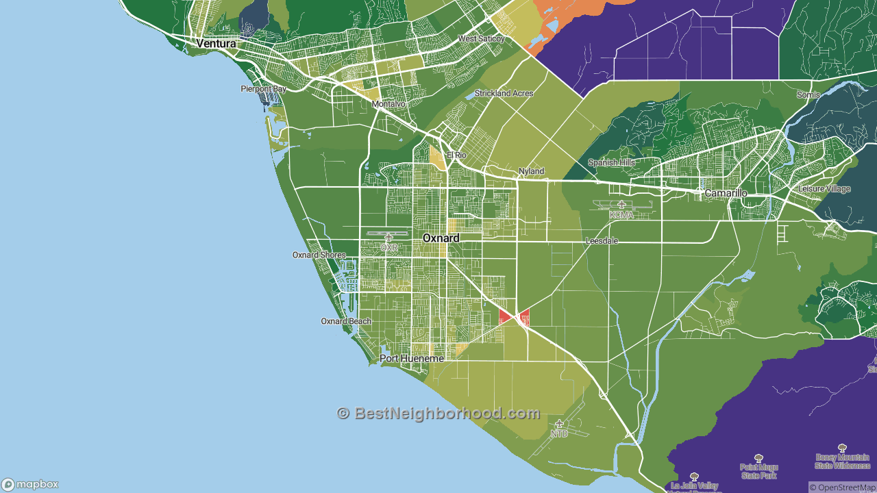 The Best Places in Oxnard, CA by Home Value