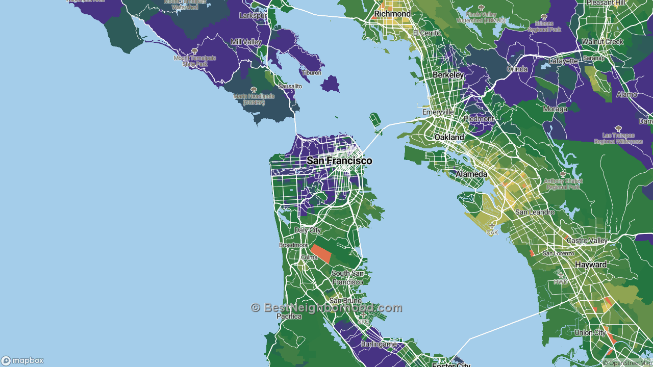 The Best Places in San Francisco, CA by Home Value