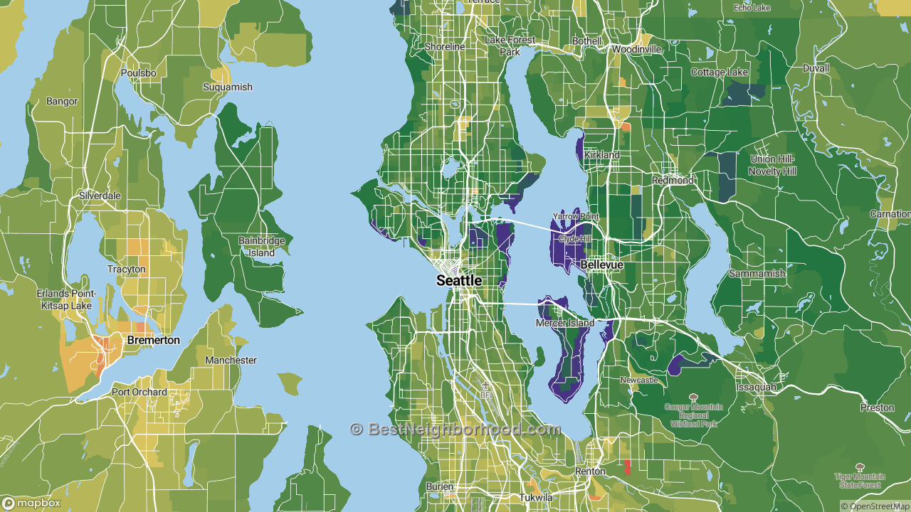 The Best Places in Seattle, WA by Home Value