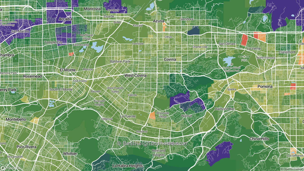The Best Places in West Covina, CA by Home Value