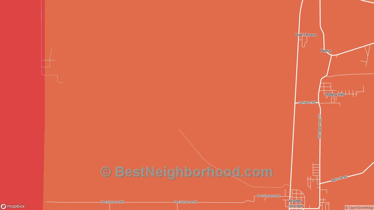 Oak Terrace, FL Map of DSL Internet Availability