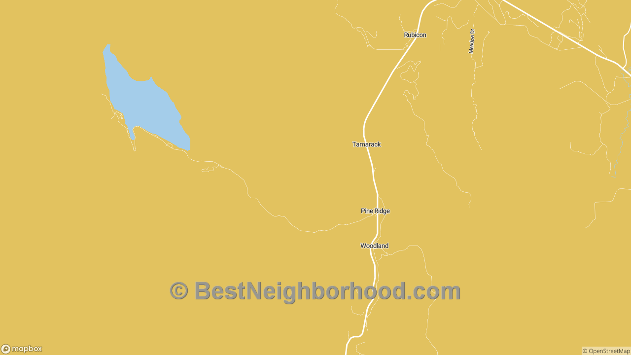 Pine Ridge, ID Map of DSL Internet Availability