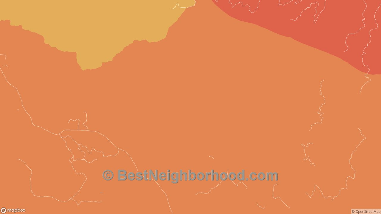 Menlo, WA Map of DSL Internet Speeds