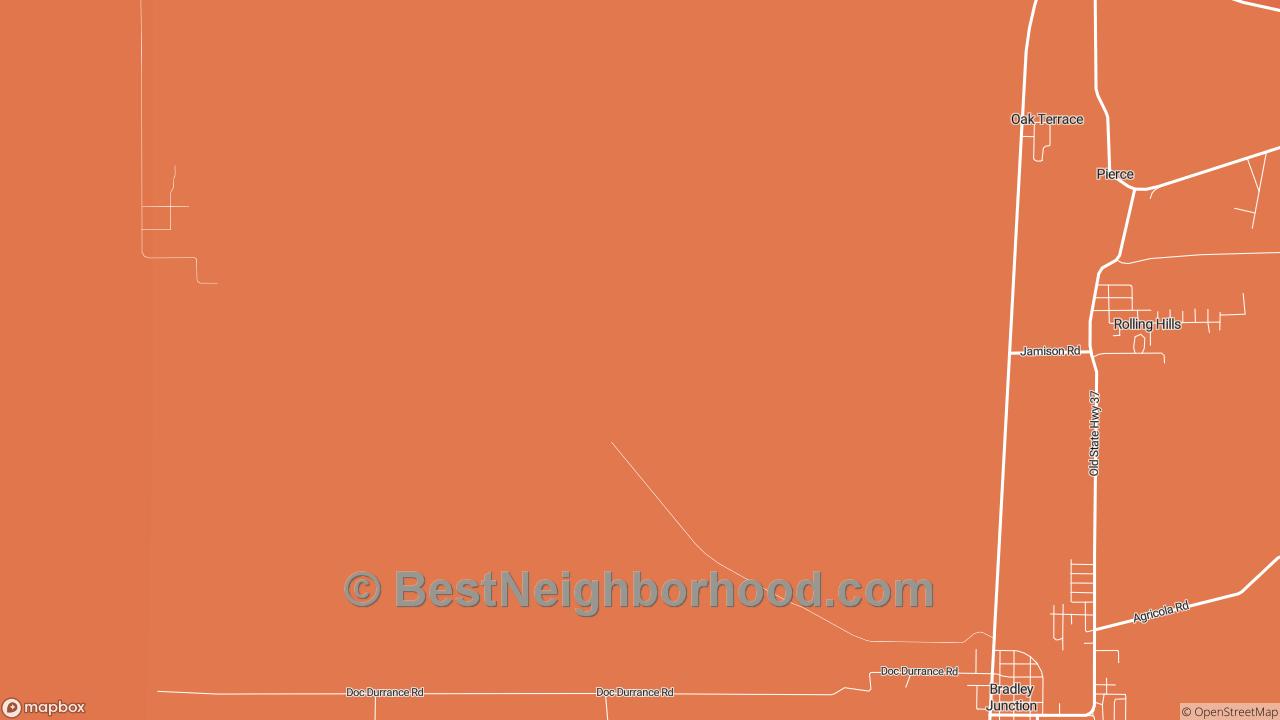 Oak Terrace, FL Map of DSL Internet Speeds