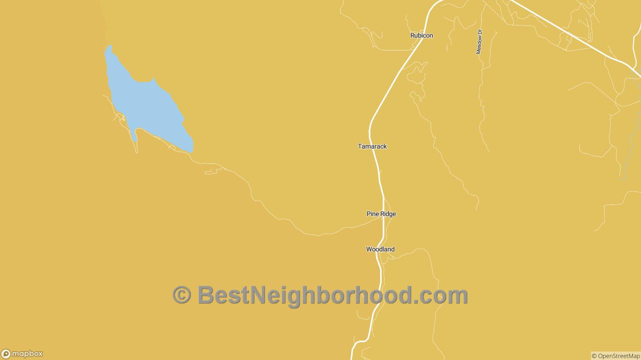 Pine Ridge, ID Map of DSL Internet Speeds