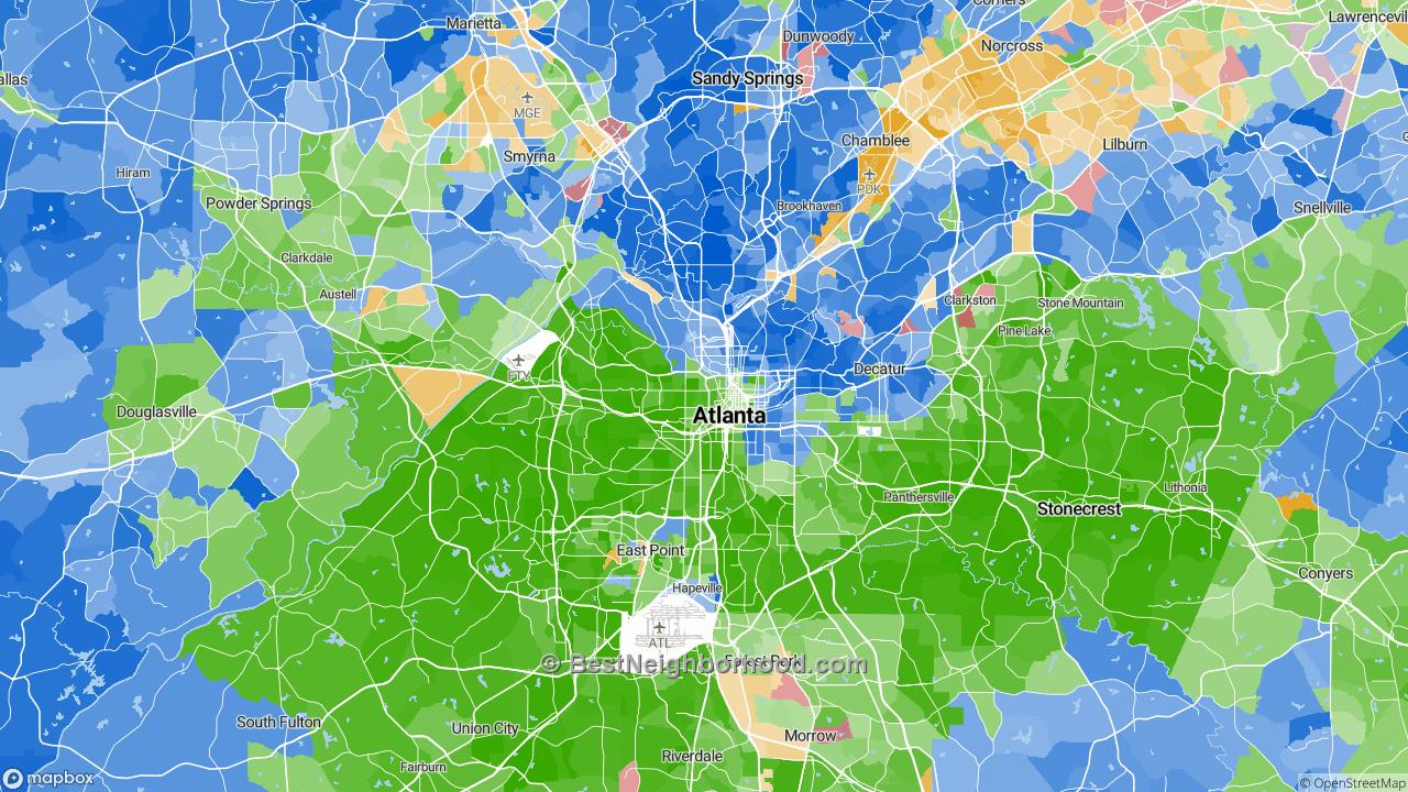 Race Map for Atlanta, GA and Racial Diversity Data ... Map Atlanta Ga on map of atlanta neighborhoods, map chicago il, map amarillo tx, map washington dc, map birmingham al, map orlando fl, map montgomery al, map louisville ky, map miami fl, map seattle wa, map atlantic city nj, map charlotte nc, map annapolis md, map fayetteville nc, map new orleans la, map dallas tx, map atlanta tn, map pittsburgh pa, map boston ma, map nashville tn,