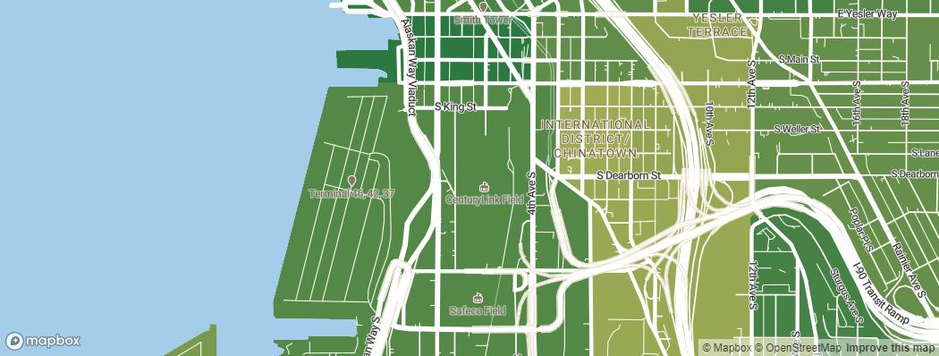 Neighborhoods near the Seattle Seahawks CenturyLink Field